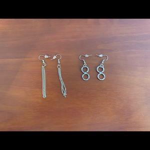 2/$25 - NWOT | Bundle of 2 sets of earrings!
